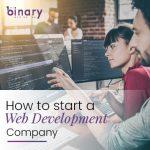 How to start a web development company?